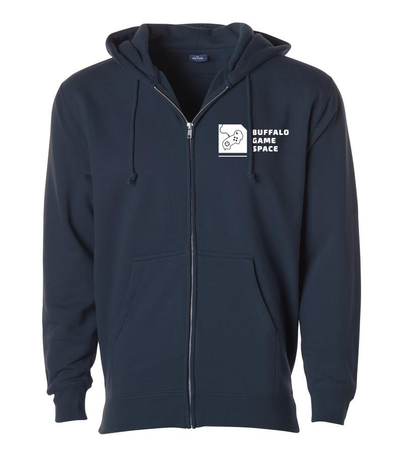 Image of BGS Hoodie - Heavyweight Zip