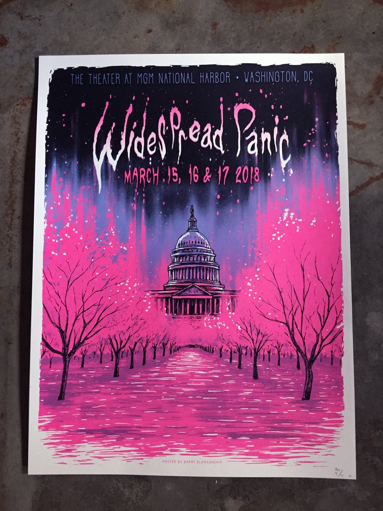 Image of WideSpread Panic DC March 15, 16, 17th 2018