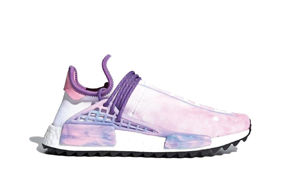 Image of adidas Human Race NMD Pharrell Holi Festival (Pink Glow) AC7362