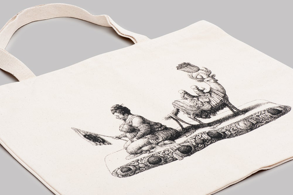 Image of microCastle Vuit Tote Bag Natural