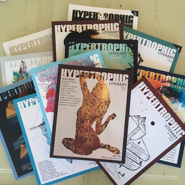 Image of Hypertrophic Literary 1-Year Print Subscription