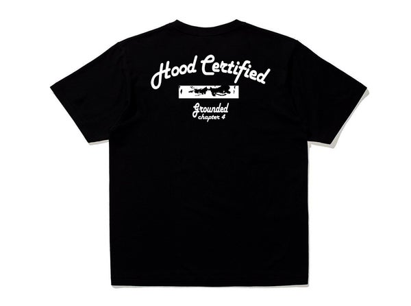 Image of Black Hood Certified T-Shirt