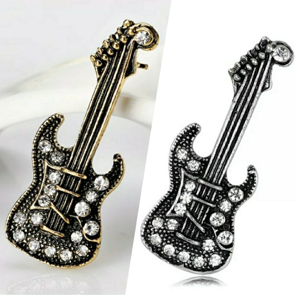 Image of GUITAR LAPEL PIN