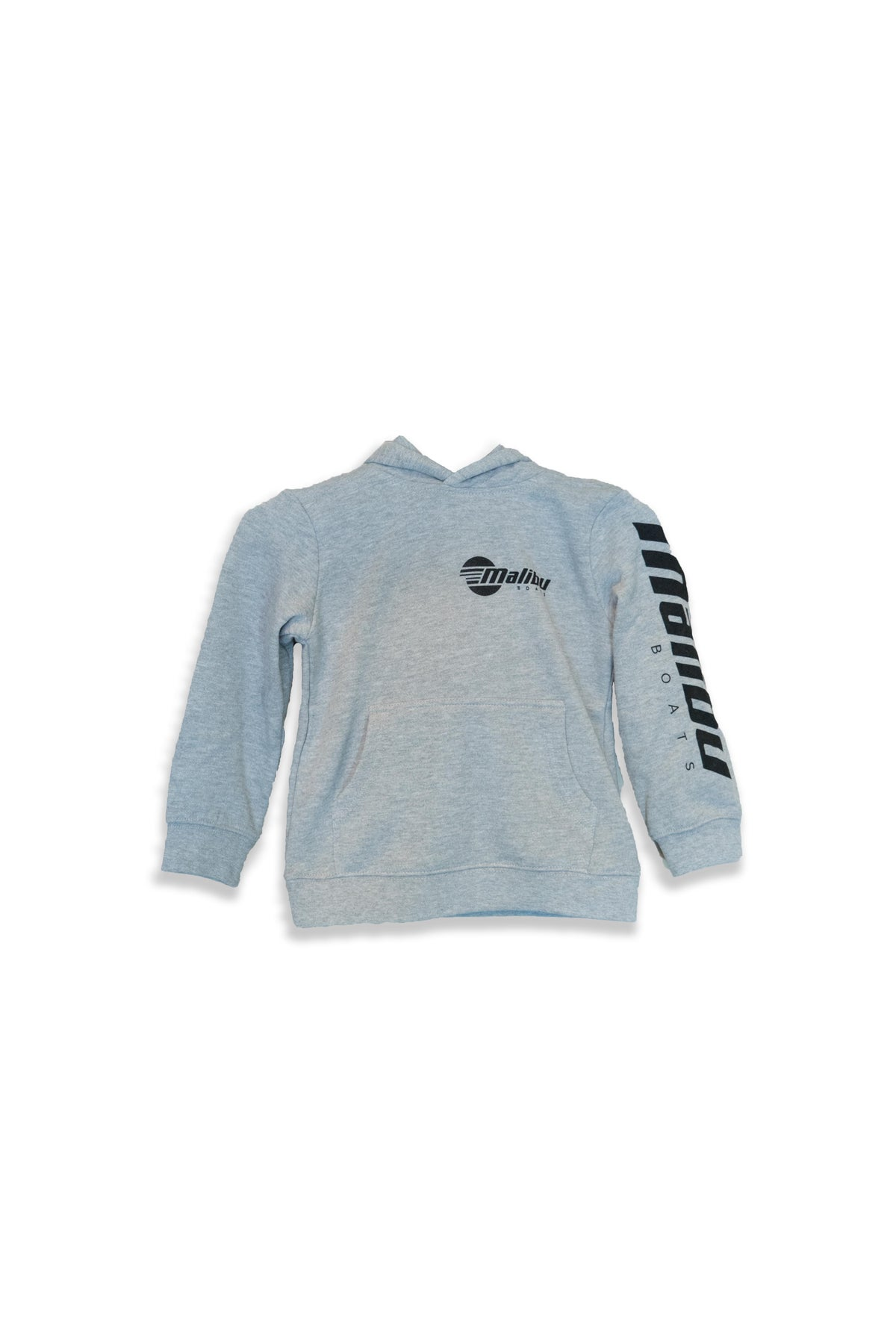 Image of Malibu Kid's Hoodie - Black & Grey Marle