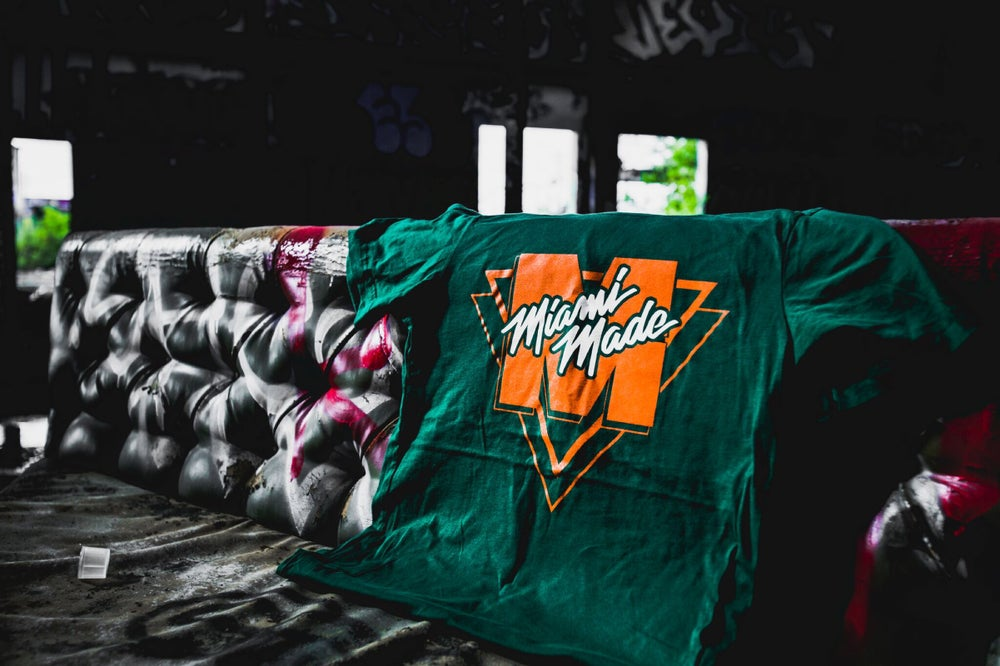 Image of MIAMI MADE CANES - GREEN