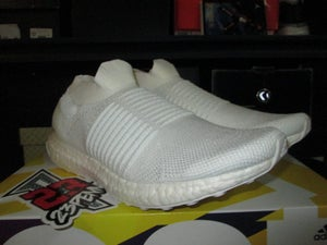 "Image of adidas Ultra Boost Laceless ""Triple White"""