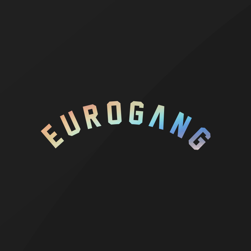Image of EUROGANG Arch Decal | Holographic