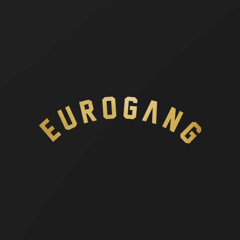Image of EUROGANG Arch Decal | Gold