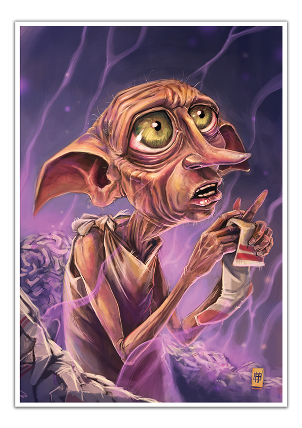 Image of Dobby - A3 Poster Print