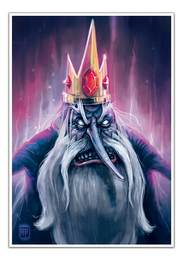 Image of Ice King - A3 Poster Print