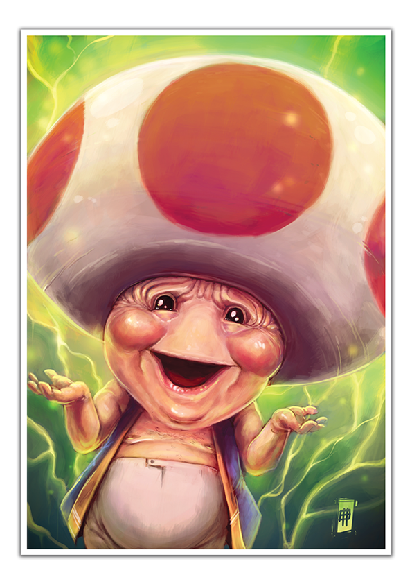 Image of Toad - A3 Poster Print