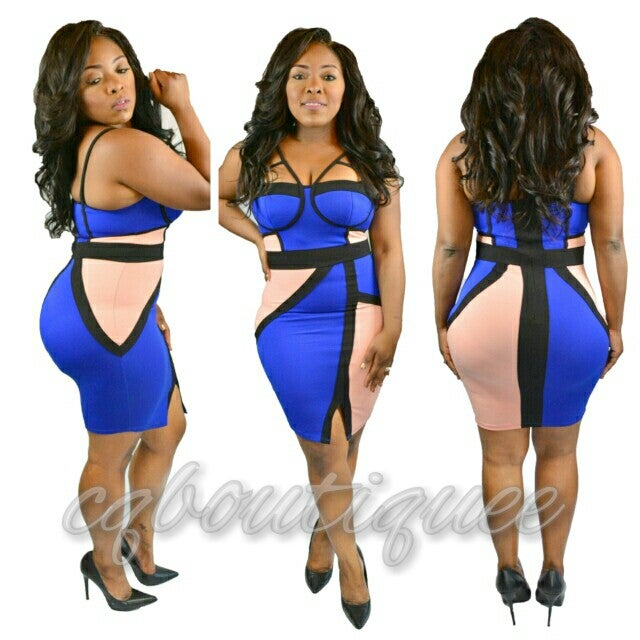 Image of Fit me dress