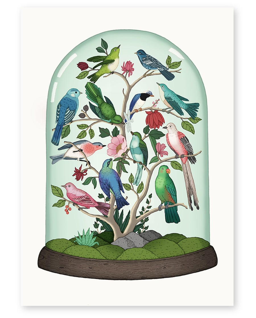 Image of 'Aviary' Limited Edition Art Print