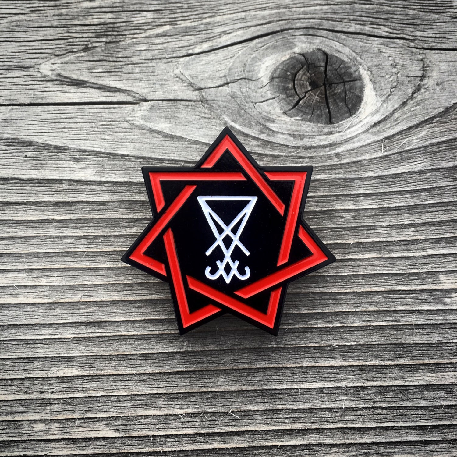 Image of Holy Hell Pin • Free US Shipping