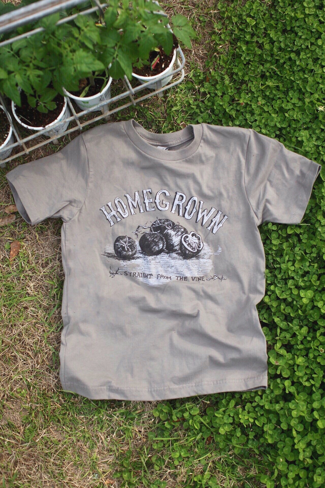 Image of Youth Homegrown Tomato Short Sleeve Tee