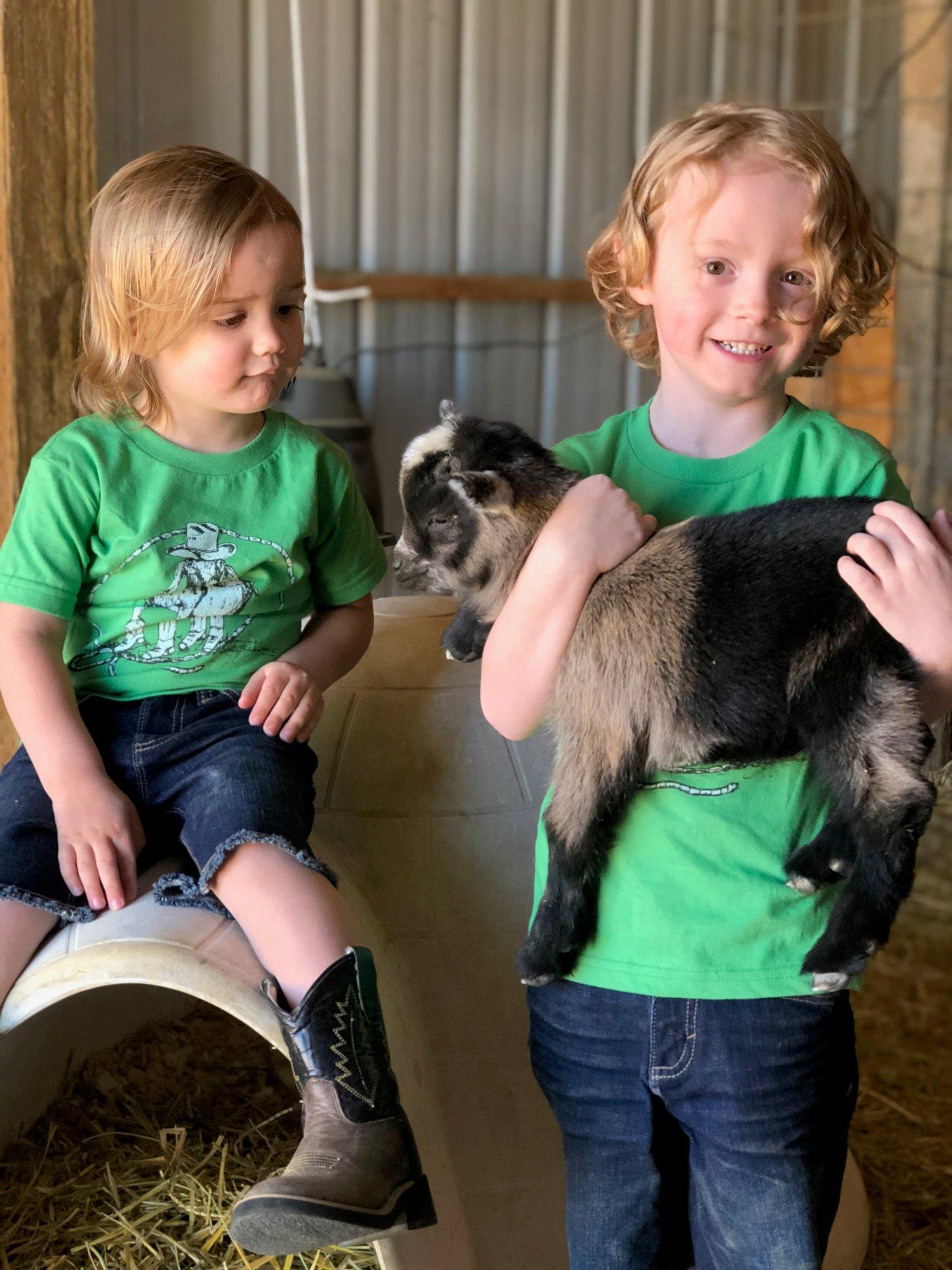 Image of Youth #GoatRoper Short Sleeve Tee