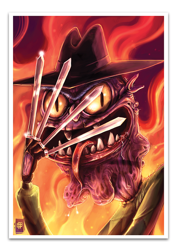Image of Scary Terry - A3 Poster Print
