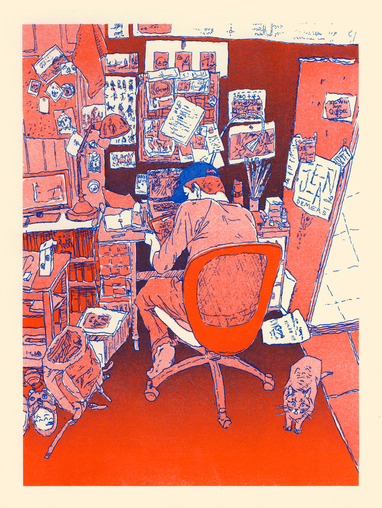 Image of print - Studio