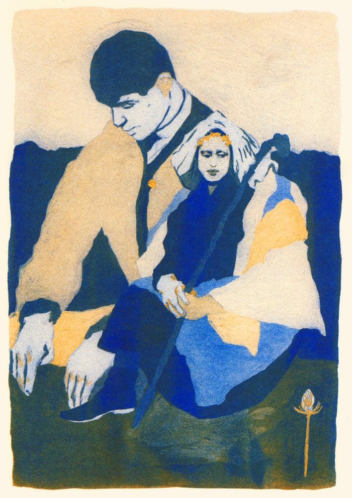 Image of Pastoral - riso print