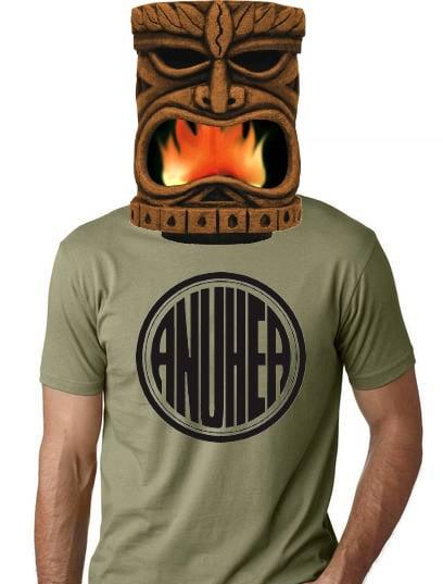 Image of Anuhea Circle Tee- Army Gren