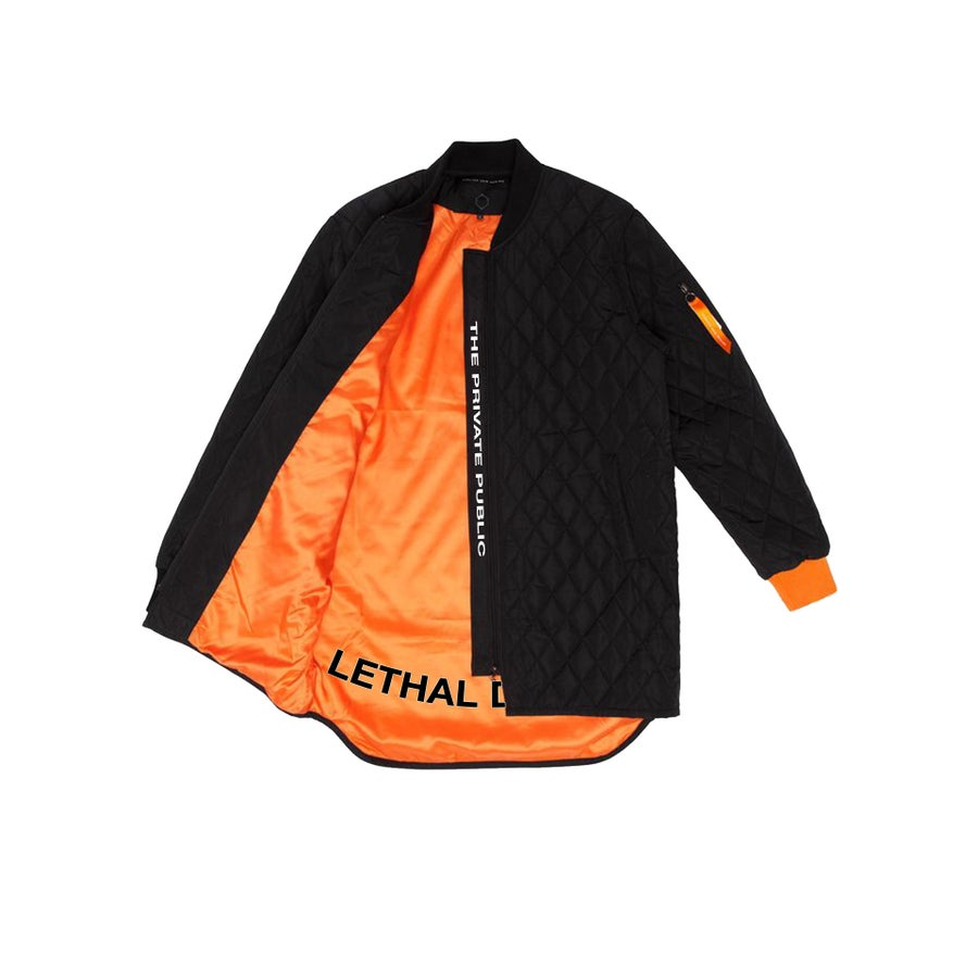 Image of LETHAL DOSAGE 18: QUILTED BOMBER JACKET