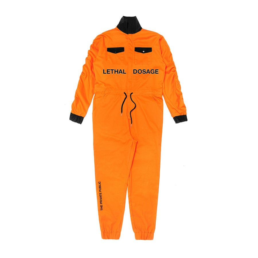 Image of LETHAL DOSAGE 18: NYLON JUMPSUIT