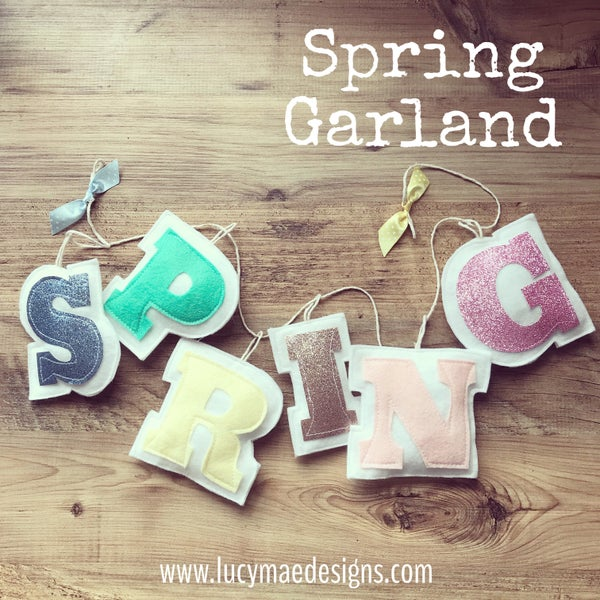 Image of Spring Garland