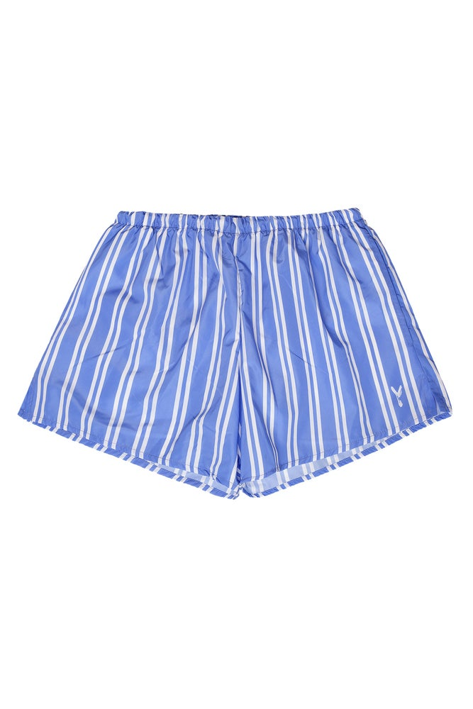 Image of Boxer Mare Double Stripes LightBlue
