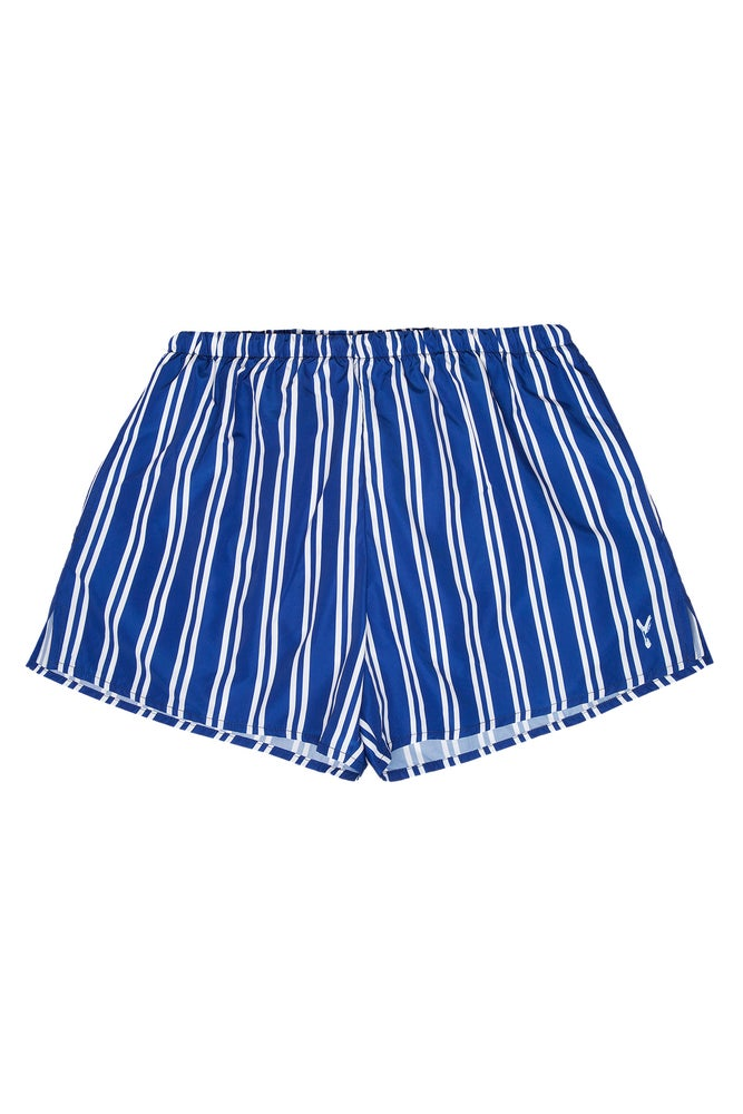Image of Boxer Mare Double Stripes Navy