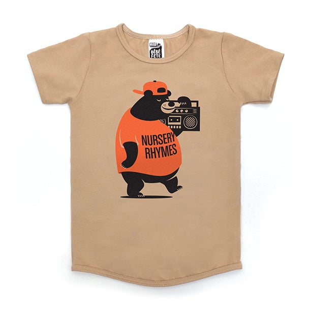 "Image of ""Nursery Rhymes Bear"" T-Shirt"