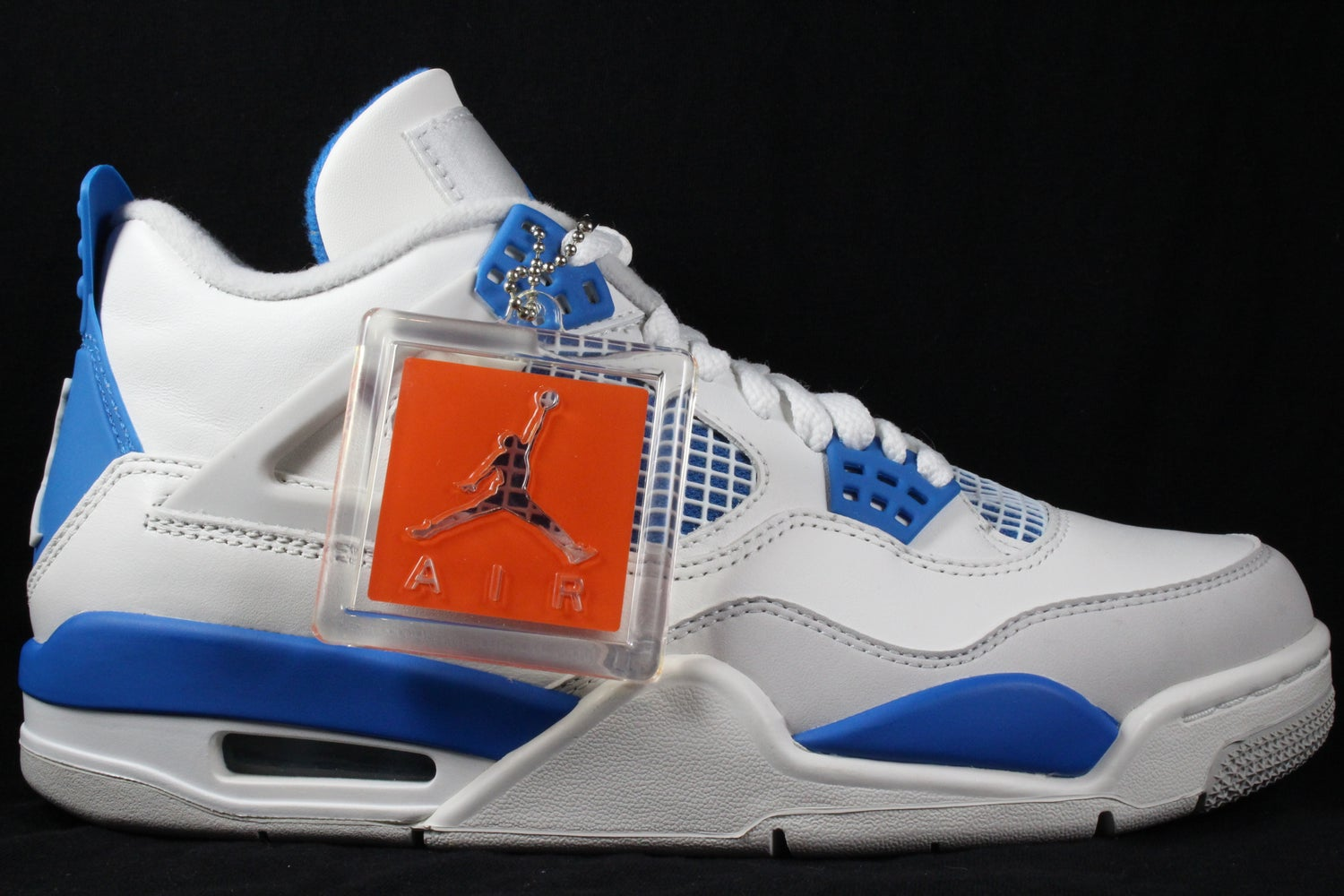 new concept 11673 ace55 Image of Nike Air Jordan 4 Retro Military Blue size 7