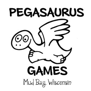 Image of Pegasaurus Games Retro Look shirt