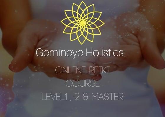 Image of Gemineye Holistics Online Reiki Course
