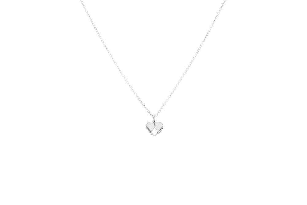 Image of Dainty Love Pendant - Silver