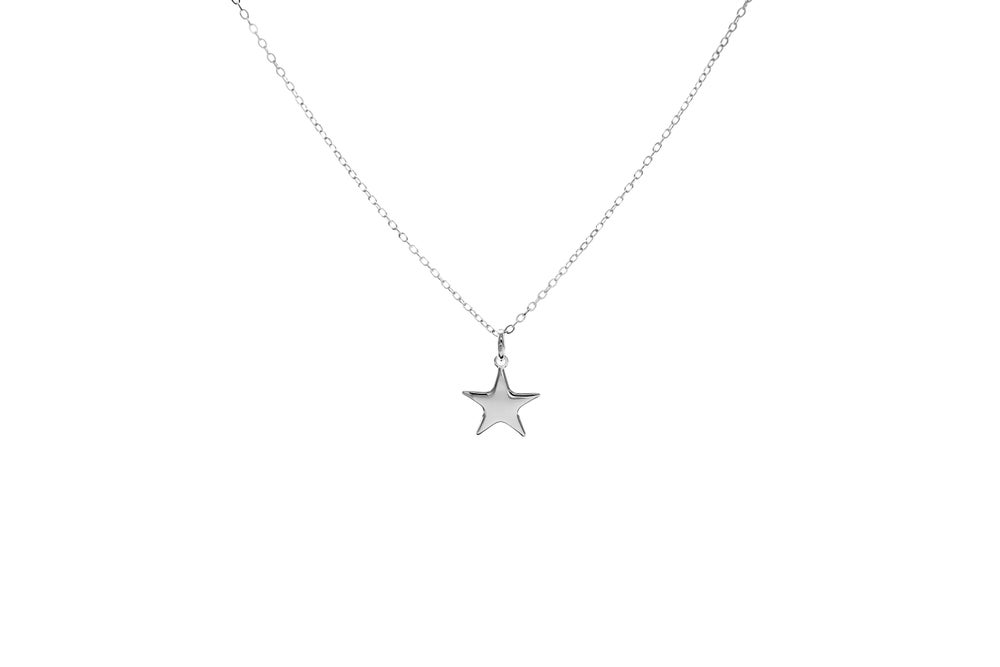 Image of Silver Shooting Star Pendant