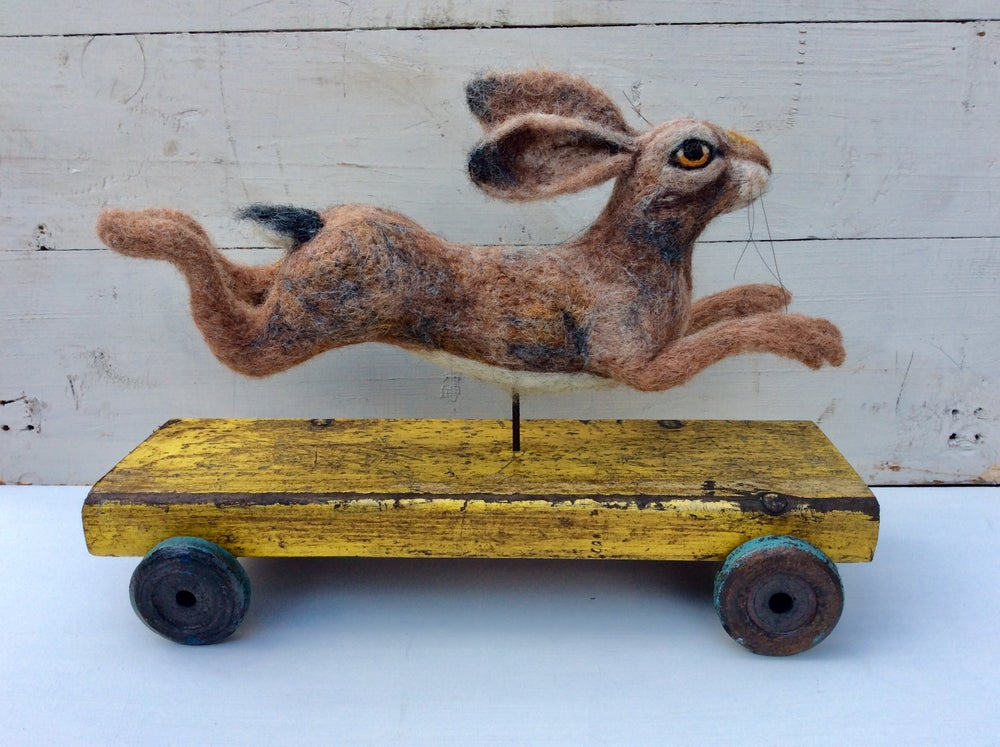 Image of Running Hare, Vintage Collection.