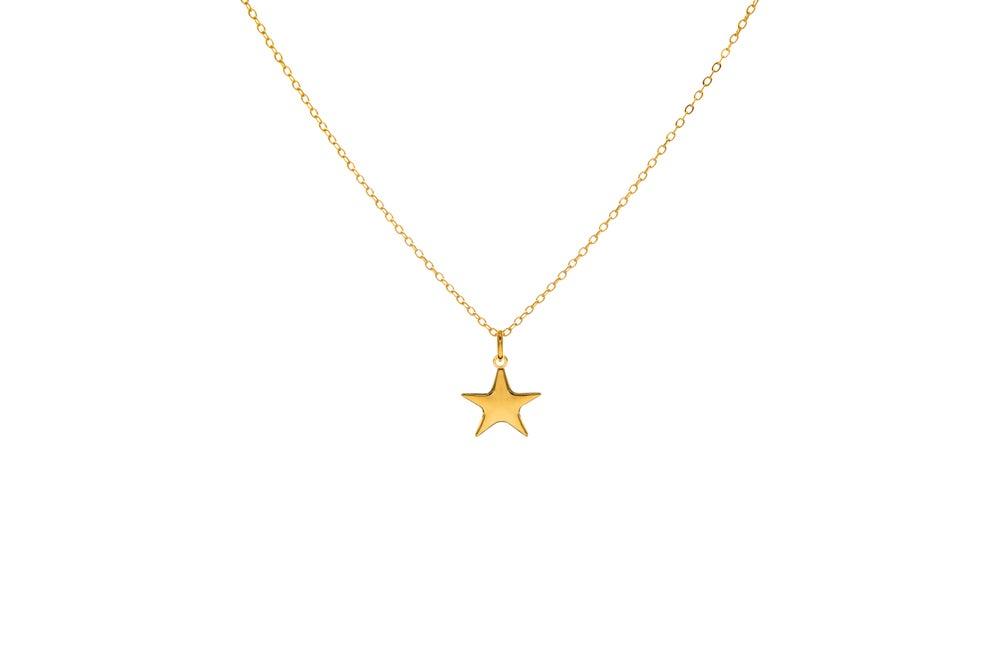 Image of Gold Shooting Star Pendant