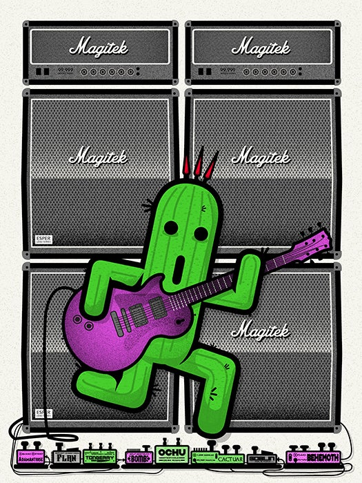 Image of Cactuar Guitar