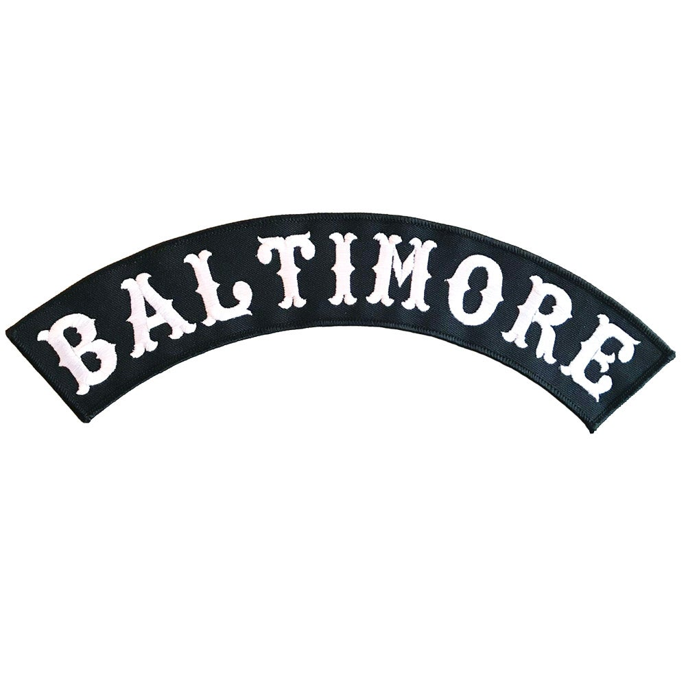 Image of Baltimore Rocker Patch (One Offs)