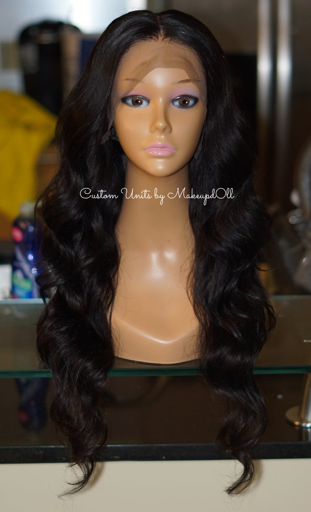 "Image of Brazilian Body Wave 24"" Lace Frontal Wig!"