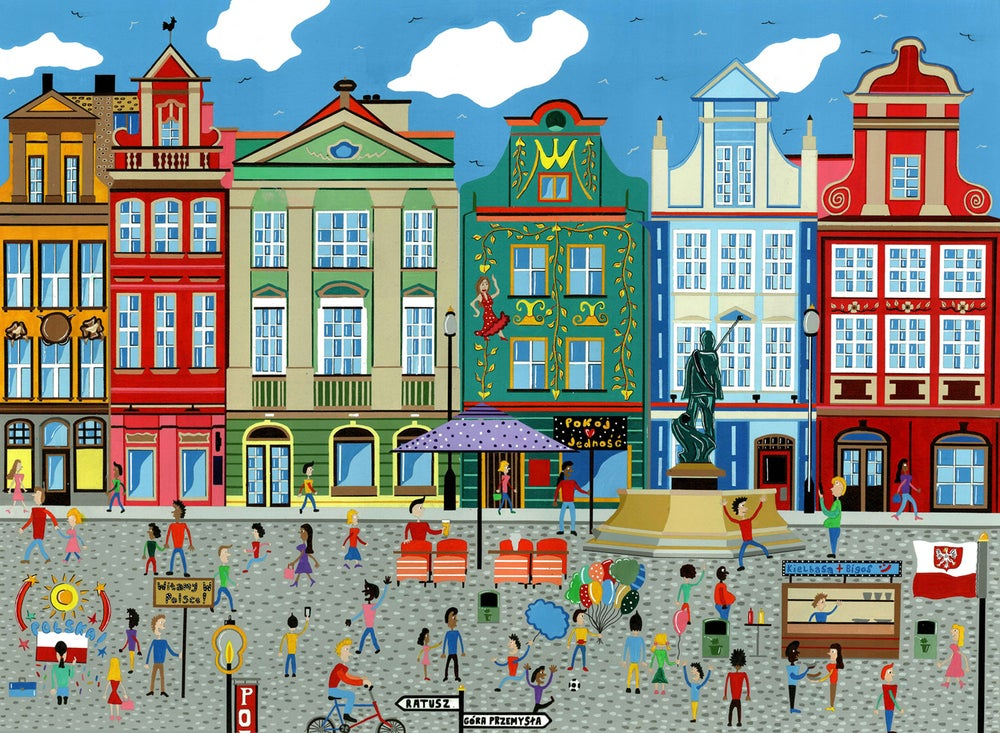 Image of Poznan Square, Poland