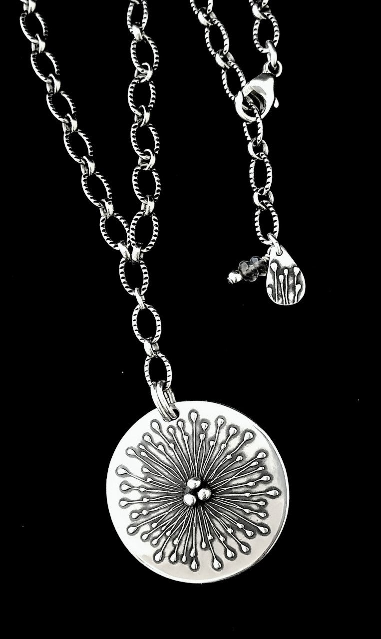Image of Fireworks Pendant Drop Necklace