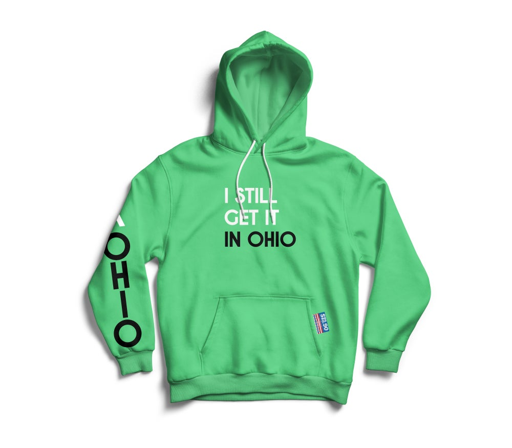 Image of I Still Get It MInt Black W/ White Hoody