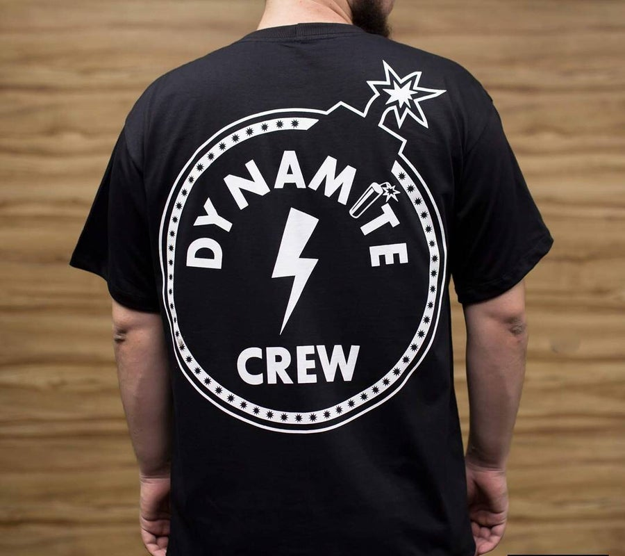 Image of Black Dynamite Crew Bomb T shirt