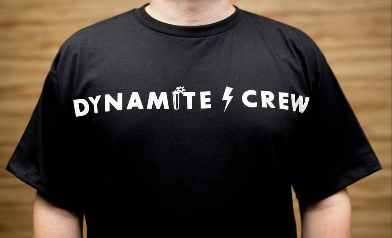 Image of Black Dynamite Crew Bomb T shirt