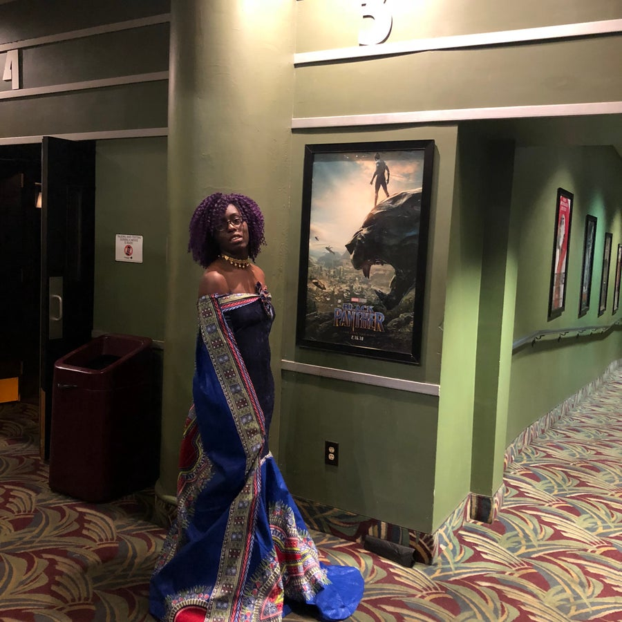 Image of The Wakanda Dress