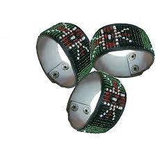Image of Maasai -Kenyan  flag Bracelet