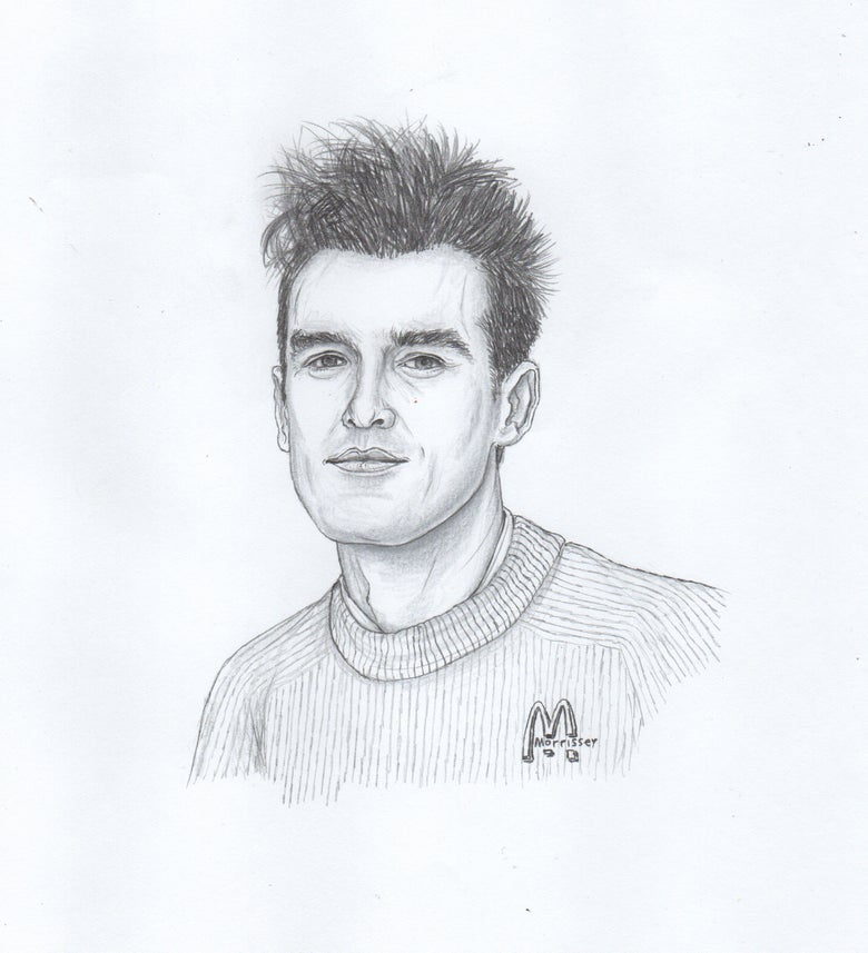 Image of morrissey original portrait