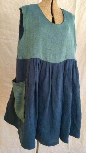 Image of reversible linen dress
