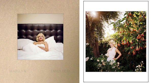 "Image of ""Marilyn"" Book + signed 8 x 10"" print"